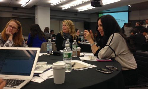 Practical Privacy Series-New York attendees share strategies and talk shop.