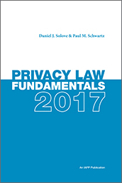 Privacy Law Fundamentals, Fourth Edition